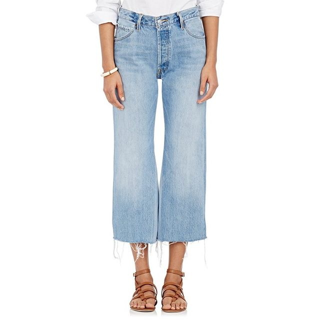Re/Done High-Rise Crop Jeans