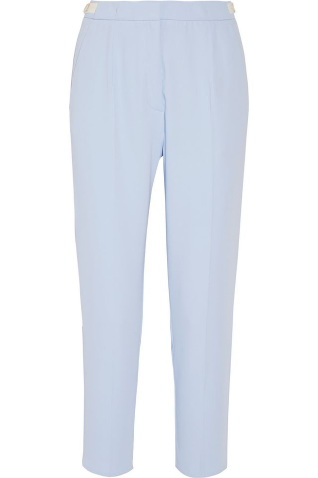 MM6 Maison Margiela Crepe de Chine Tapered Pants