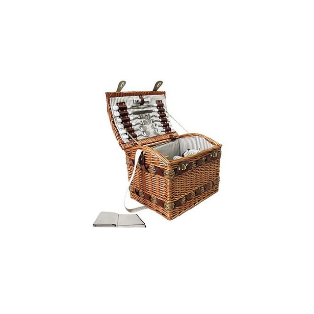i.Life 4 Person Picnic Basket Set