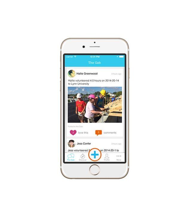 GiveGab Social Volunteering App
