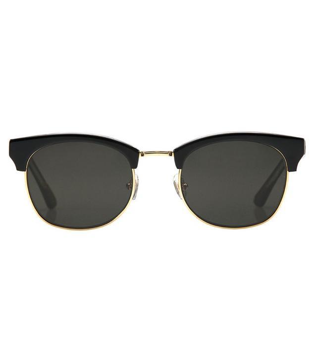 KREWE du optic LGD Black + Crystal Polarized 24K Sunglasses