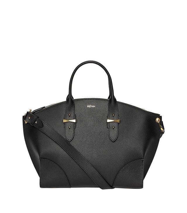 Alexander McQueen Legend Leather Satchel Bag