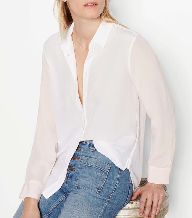 Equipment Leema Silk Shirt