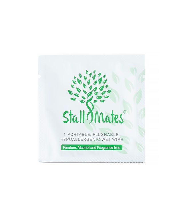 Stall Mates Portable, Flushable Hypoallergenic Travel Wipes