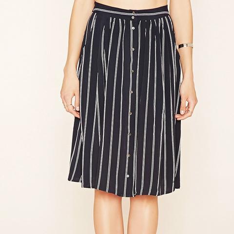 Contemporary Striped Skirt