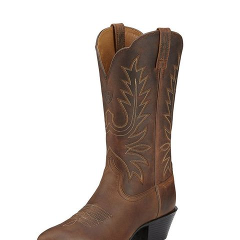 Heritage Western R Toe Boots