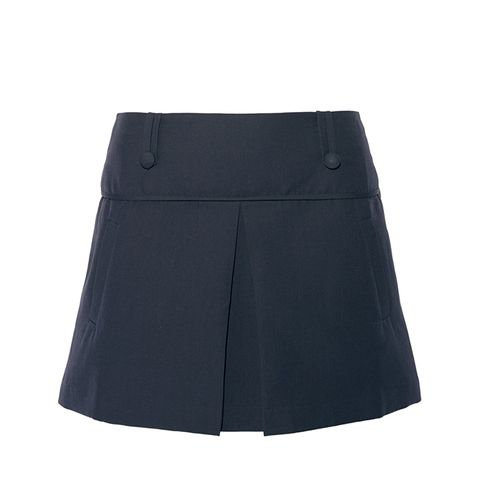 Grenoble Stretch Cotton-Blend Mini Skirt