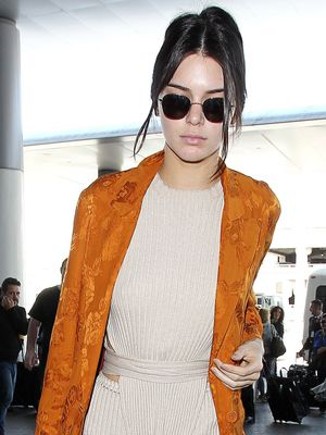 Kendall Jenner Just Cracked the Comfortable Airport Code