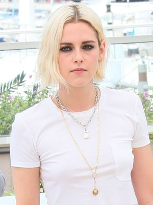 How Kristen Stewart Dressed Up a White T-Shirt for Cannes