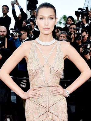 Cannes You Handle Bella Hadid's Stunning Couture Gown?