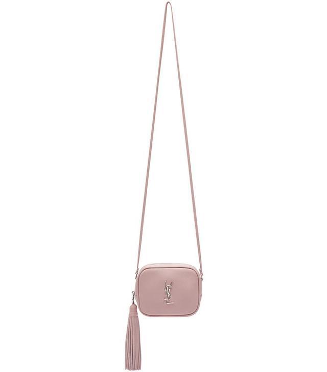 Saint Laurent Pink Monogram Toy Blogger Bag