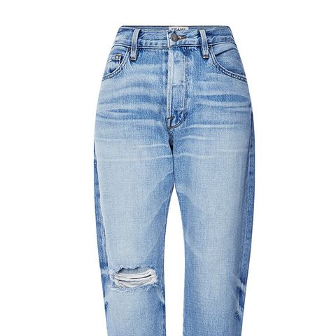 Le Original High Rise Distressed Boyfriend Jeans