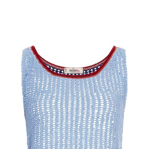 Tiya Cotton Knitted Cropped Top