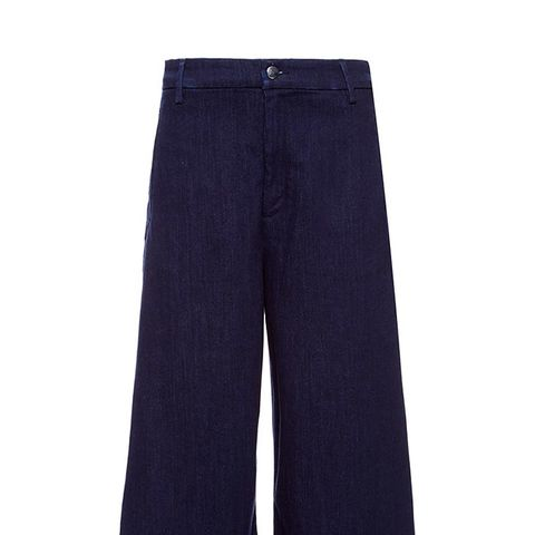 Gondoliere High Rise Flared Cropped Jeans