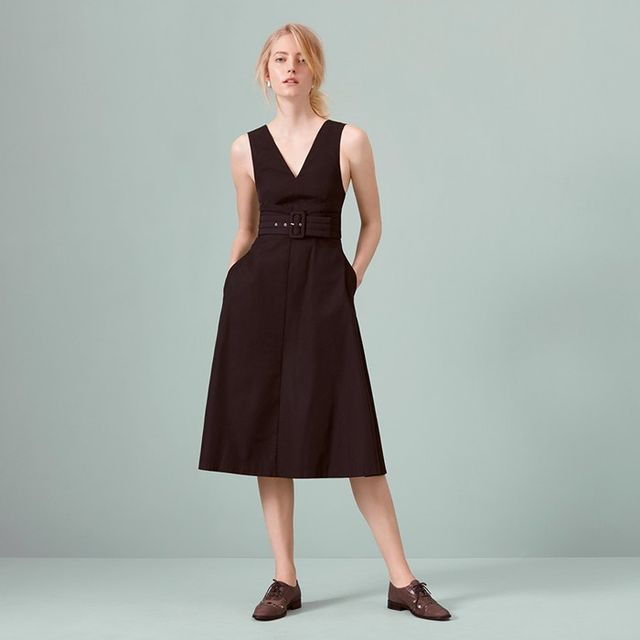 Finery Delverton Pinafore Belted Dress