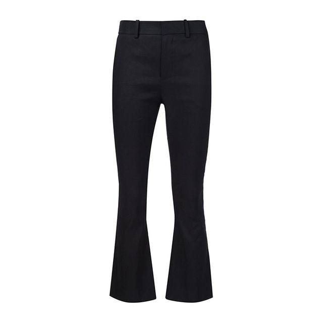 Derek Lam 10 Crosby Flared Cropped Trousers