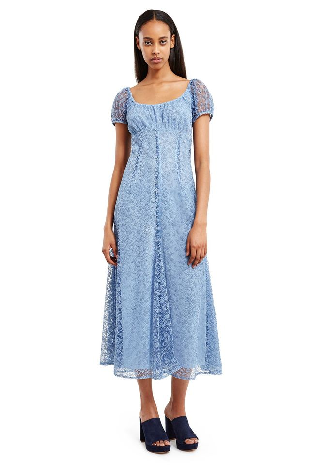 Anna Sui for Opening Ceremony Flocked Tulle Dress