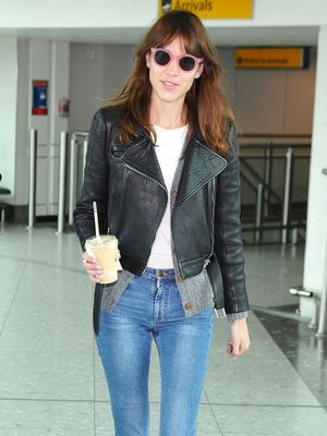 Alexa Chung Shares Her Most Impractical Airport Outfit Ever