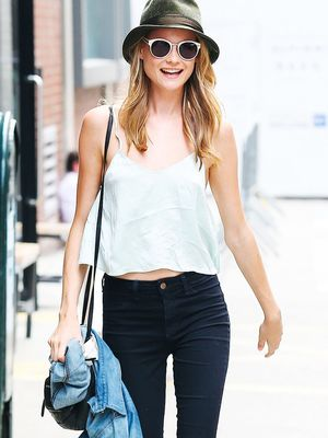 The Victoria's Secret Model With the Best Summer Style