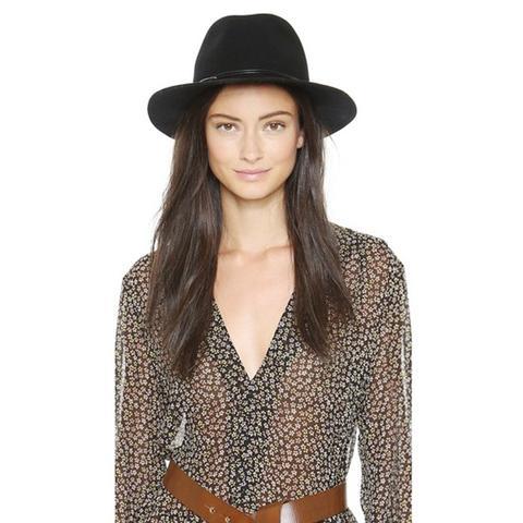 Wool Felt Avery Fedora Hat