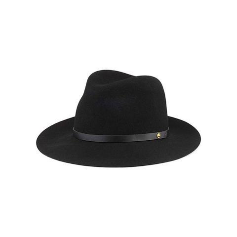 Floppy Brim Wool Fedora Hat