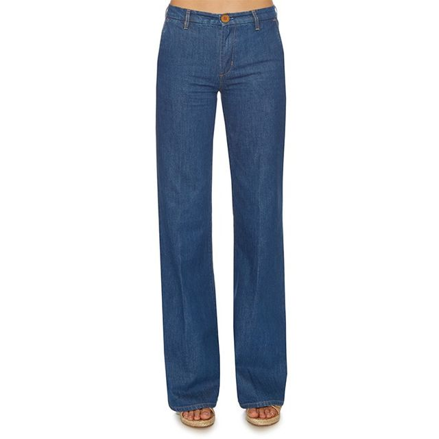 M.i.h Jeans Loon High-Rise Flared-Leg Jeans