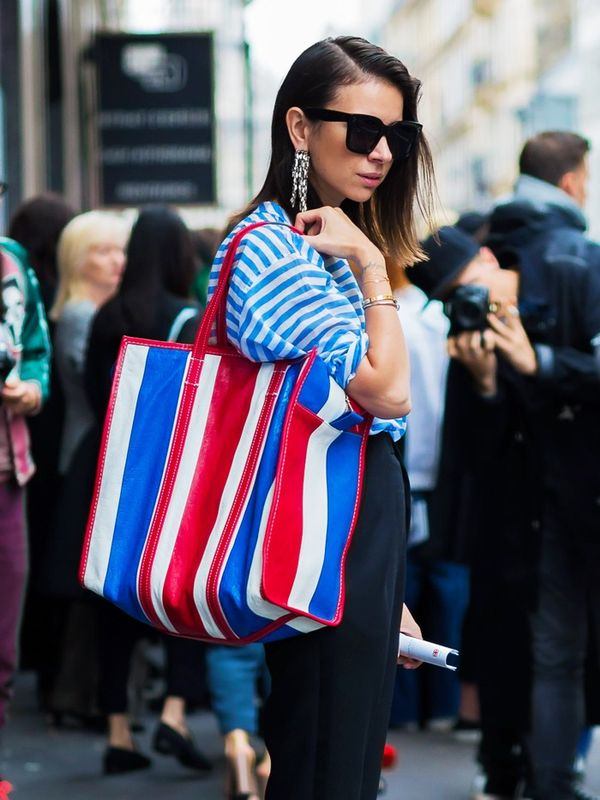 best designer bags 2016: Balenciaga Bazar shopper bag