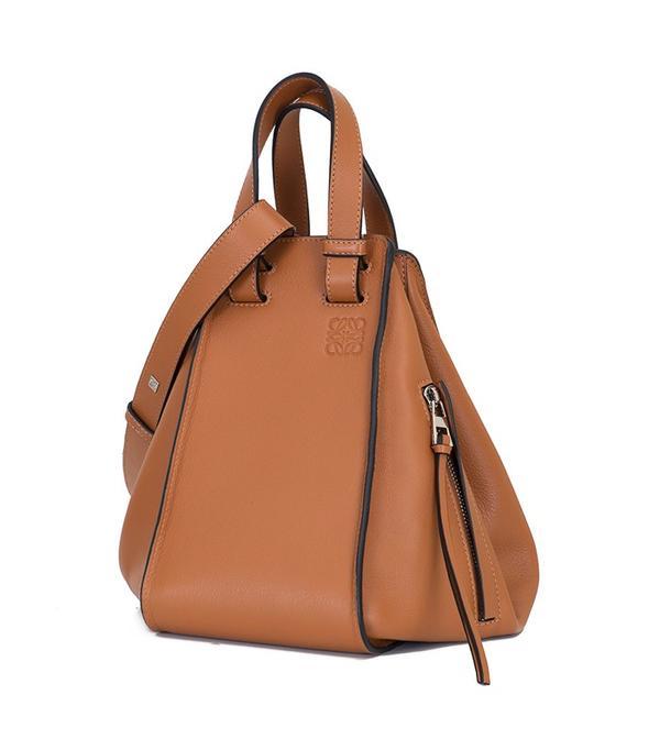 best designer bags 2016: Loewe Hammock Leather Tote