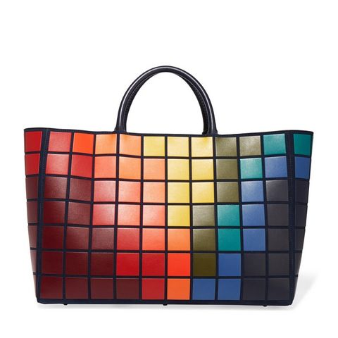 Ebury Maxi Pixels leather tote