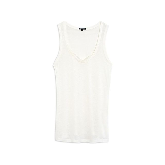 Who What Wear Lace Illusion Tank