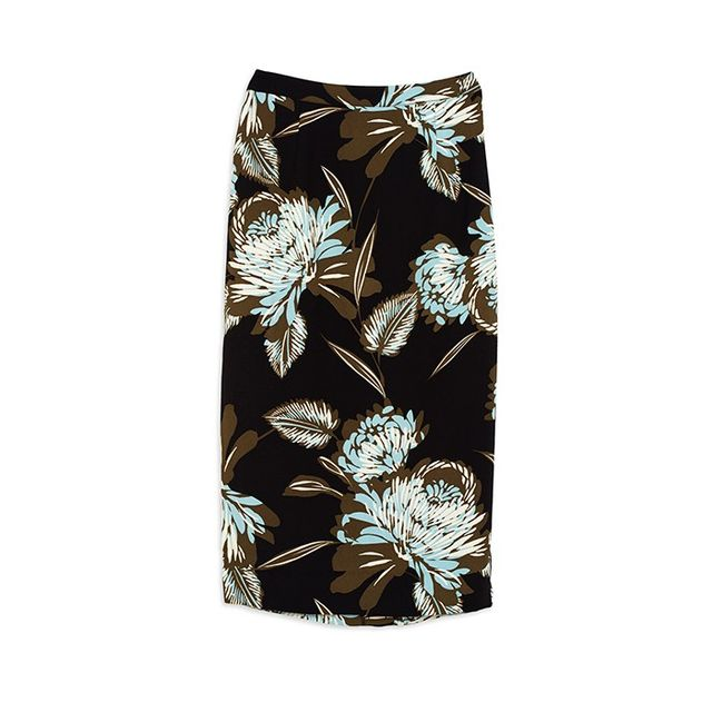 Who What Wear Sarong Midi Skirt