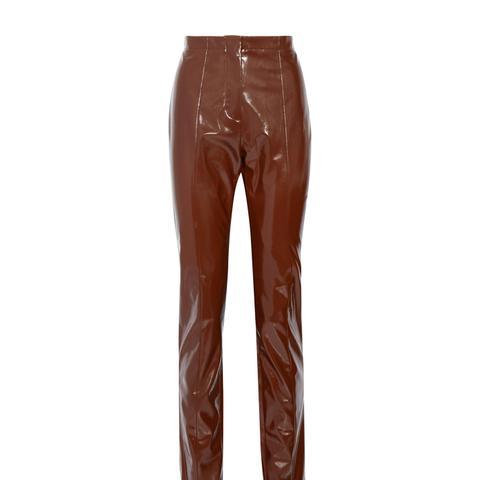 Tugi Vinyl Slim-Leg Pants