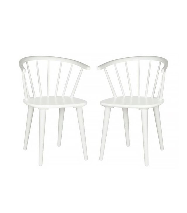 One Kings Lane White Norman Side Chair