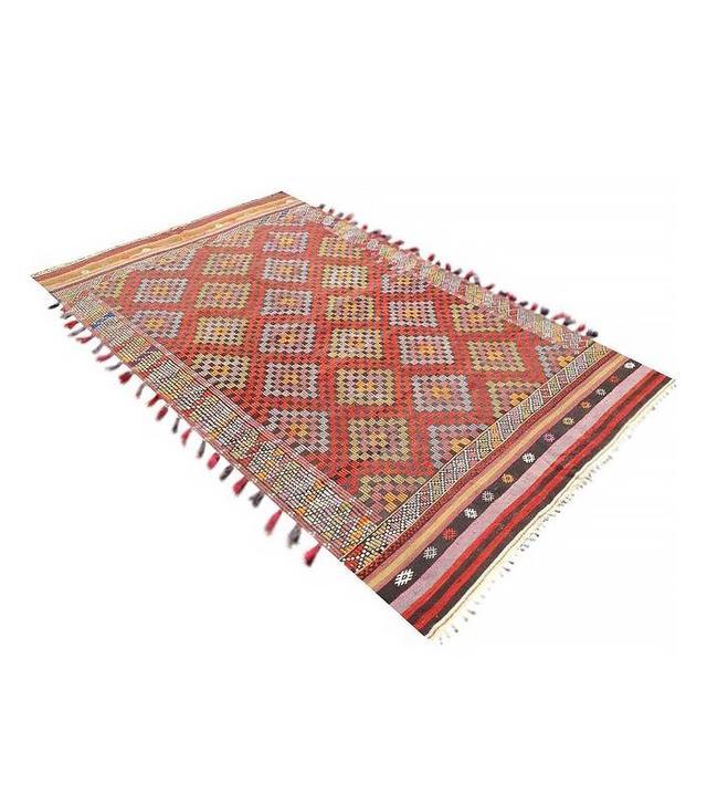 Pergamon Arts Vintage Turkish Kilim Rug