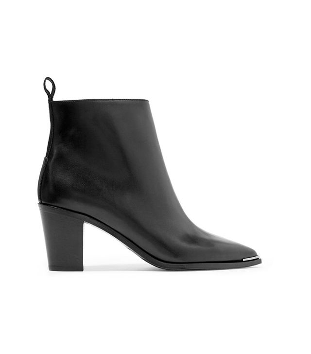 Acne Studios Loma Leather Ankle Boots