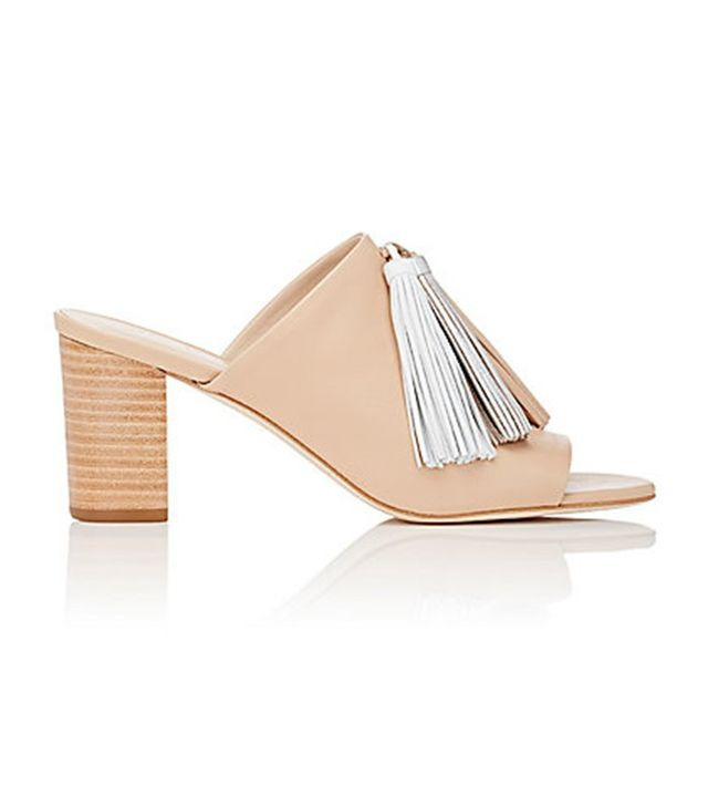 Loeffler Randall Tassel-Embellished Open-Toe Sandals