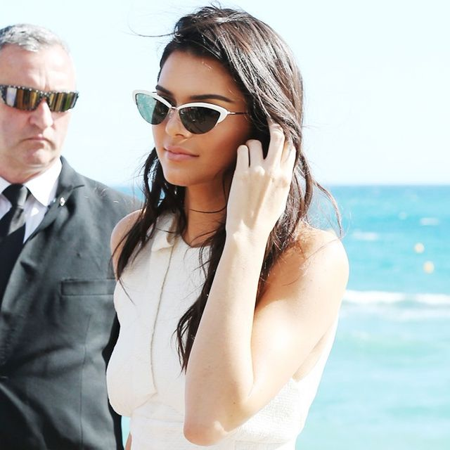Kendall Jenner Wore a White Jumpsuit to Cannes, Looked as Chic as Ever