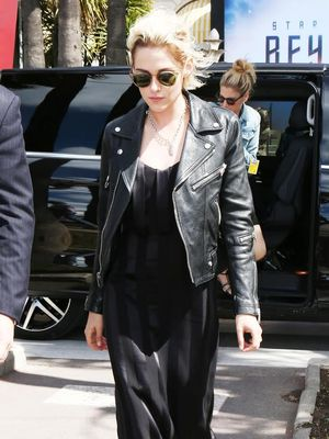 Kristen Stewart Just Wore One of Spring's Biggest Trends to Cannes