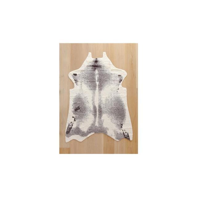 Kmart Faux Cowhide Rug - Grey