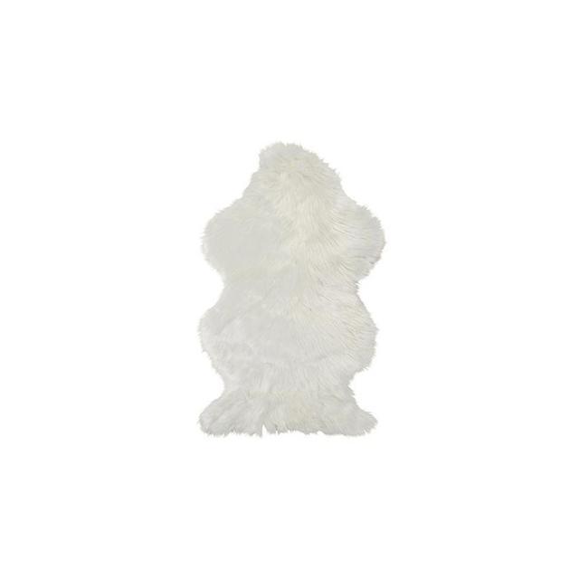 Kmart Wellington Faux Fur Rug - White
