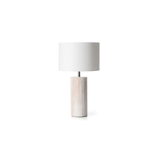 Kmart Washed Wood Table Lamp