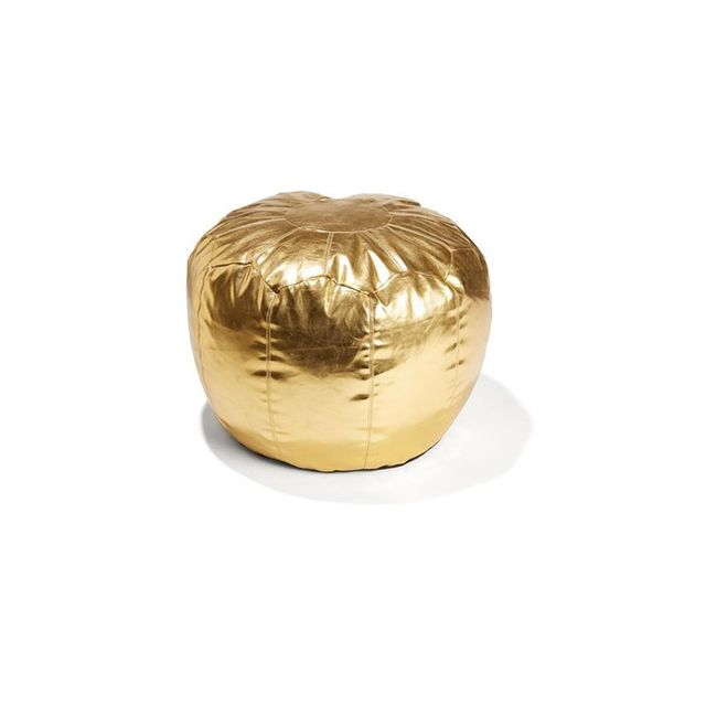 Kmart Moroccan Ottoman - Gold