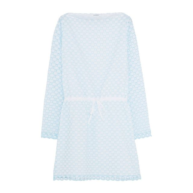 Carven Broderie Anglais Dress