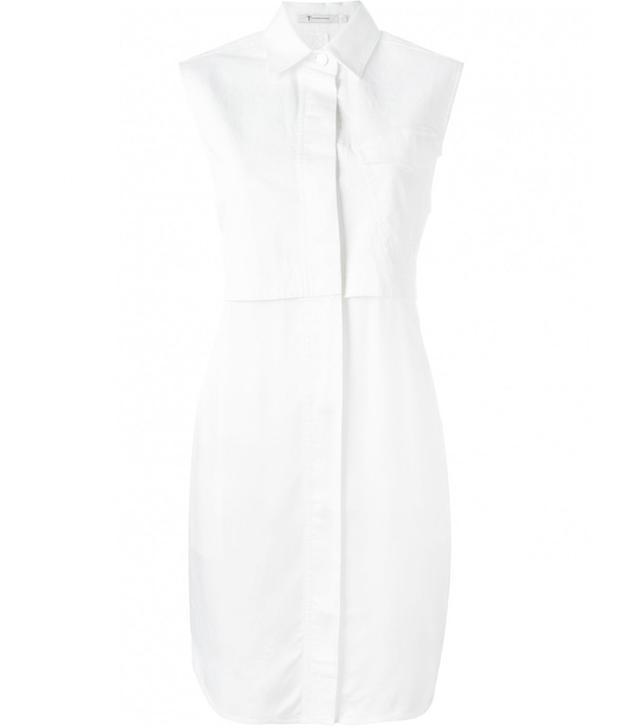 T by Alexander Wang Cotton Shirt Dress