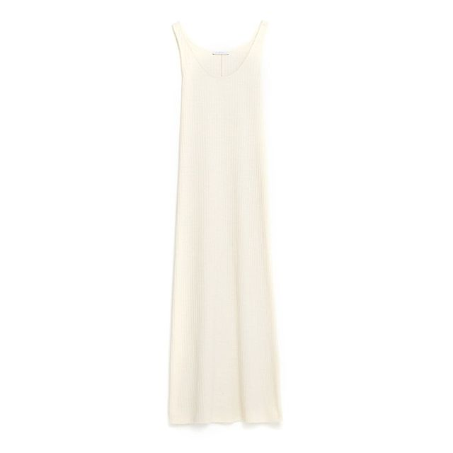 Zara Ribbed Strappy Dress