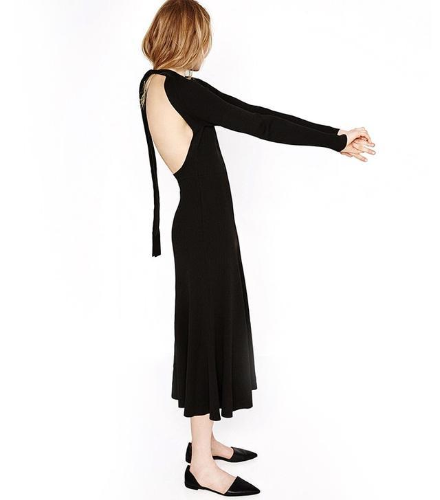 Zara Low-Cut Back Dress