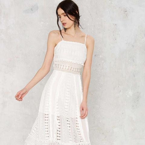 Spill the Tea Lace Dress
