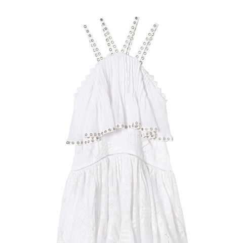 Sleeveless Embroidered Cami Dress