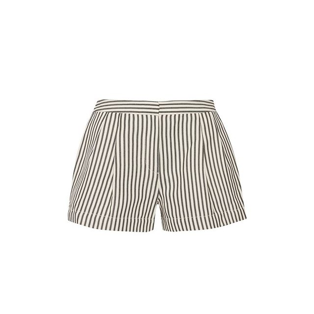 3.1 Phillip Lim Striped Canvas Shorts