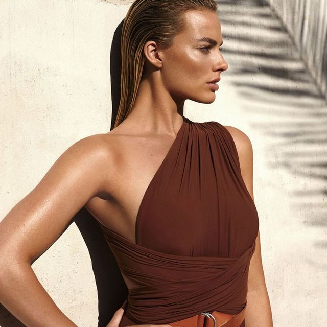 Margot Robbie's Vogue Cover Shoot Features the Coolest Swimsuits